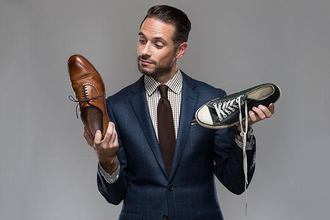 Виды мужской обуви, которые вы должны знать.