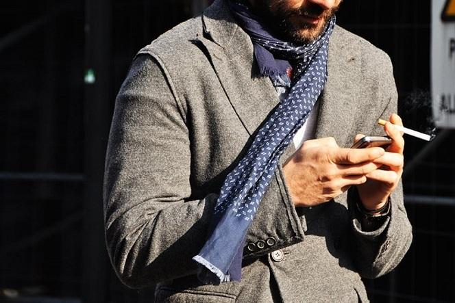 Мужской шарф: как правильно выбрать и красиво завязать?