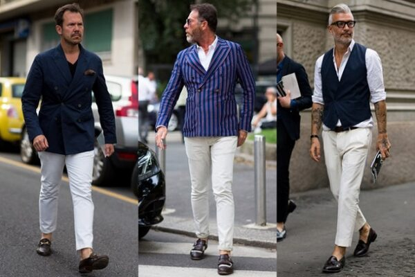 Белые брюки только для жары?
