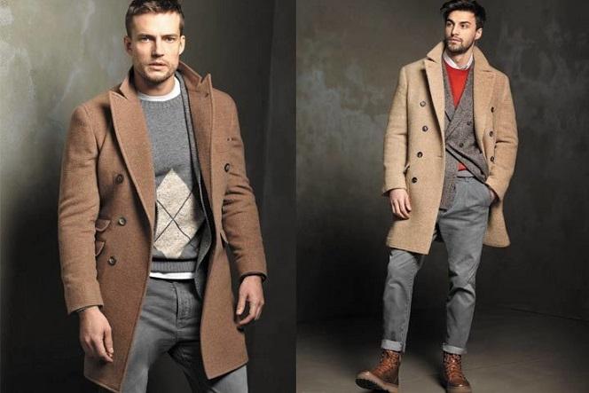Модные мужские пальто осень-зима 2019-2020.